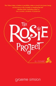 Image of the book titled The Rosie Project by Graeme Simsion