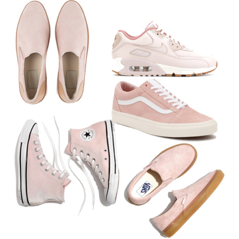 Pale Pink Shoes