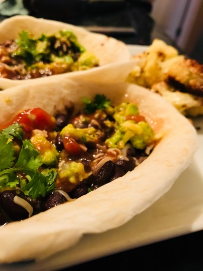 Spicy Bean Tacos
