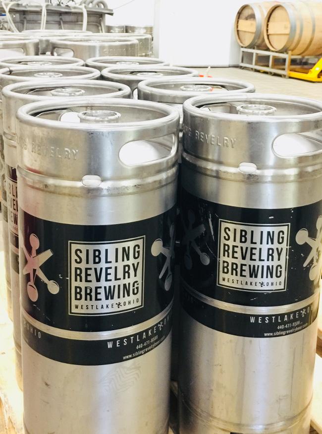 Sibling Revelry kegs