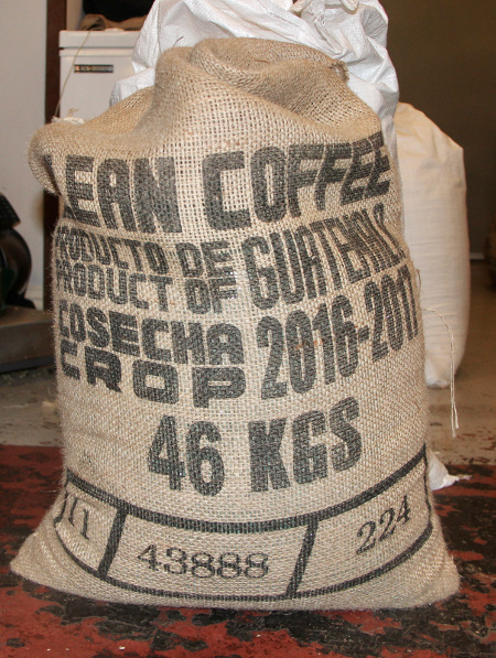Image of bag of coffee beans