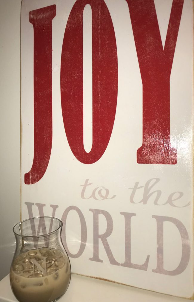 Joy to the World Cocktail