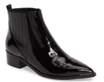 Marc Fisher Yommi Chelsea Bootie - Glossy Patent