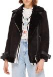 Topshop Faux Shearling Jacket