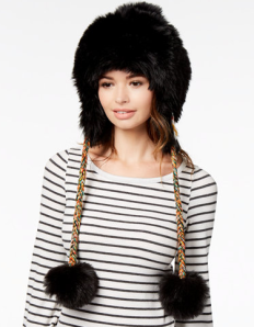 Free People Faux Fur Trapper Hat - $4