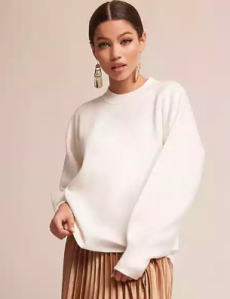Balloon-Sleeve Sweater - $58