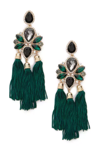 Art Deco Drop Earrings - $9.90