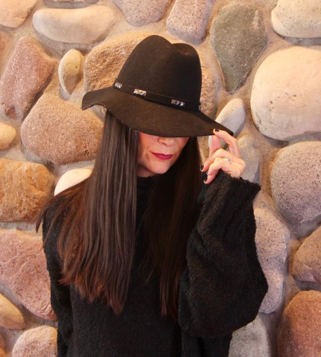 Ashlee in a hat