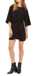Topshop Tie Front Mini Dress