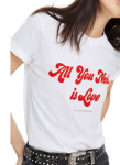 Topshop All You Need is Love tee