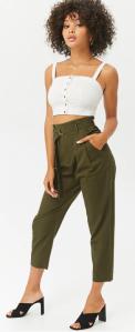 Paperbag Chino pants