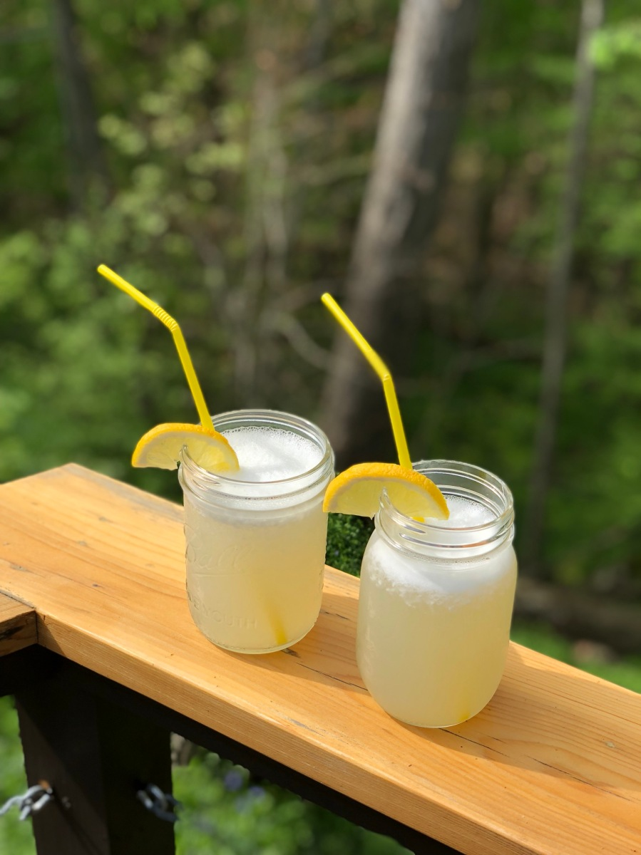 Moonshine Lemonade for Two