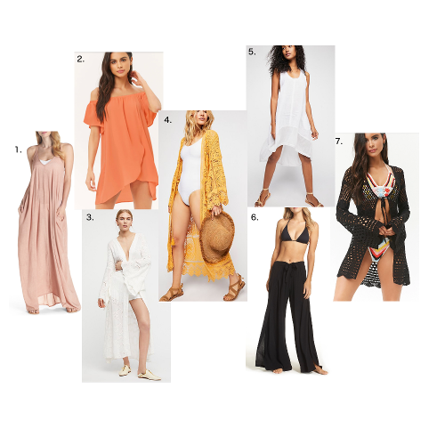 7 Bathing Suit Cover-ups