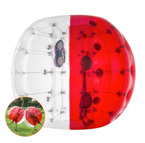 Popsport Inflatable Bumper Ball Set 4FT Bubble Soccer Ball Suit 2 Pack