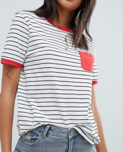 Asos Tall Stripe T-shirt