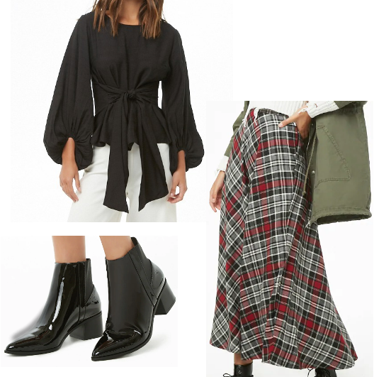 Inexpensive Fall Picks at Forever21