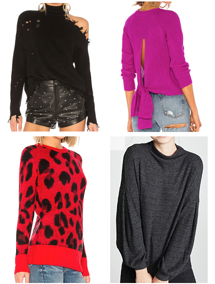 Four Sweaters That I Love