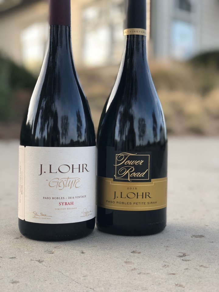 j. Lohr wine tasting