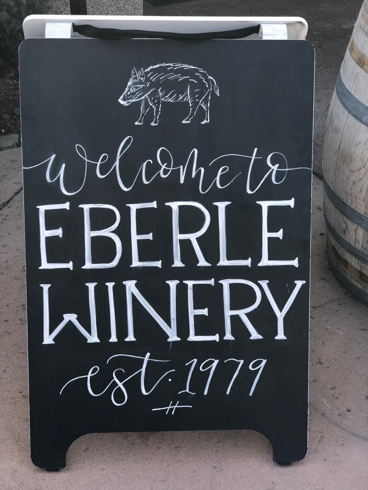 Visit Eberle Winery