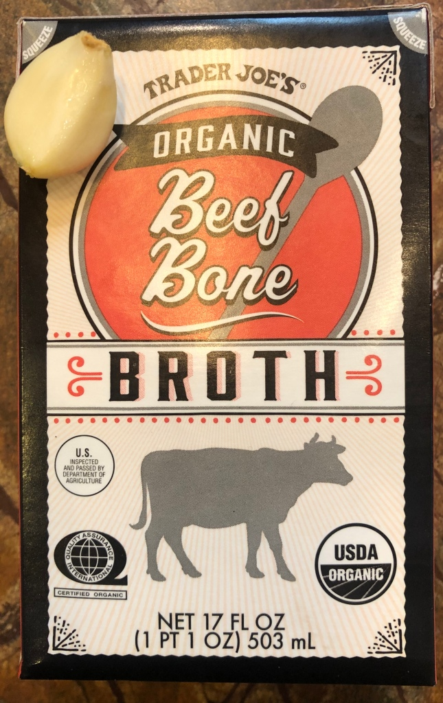 Cauliflower Soup with Organic Beef Bone broth