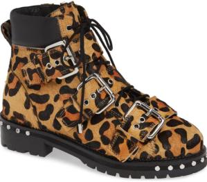 Animal Genuine Calf Hair Studded Boot