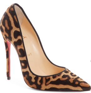So Kate Genuine Calf Hair Pump