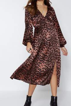 Oh Hey Grr-l Leopard Dress