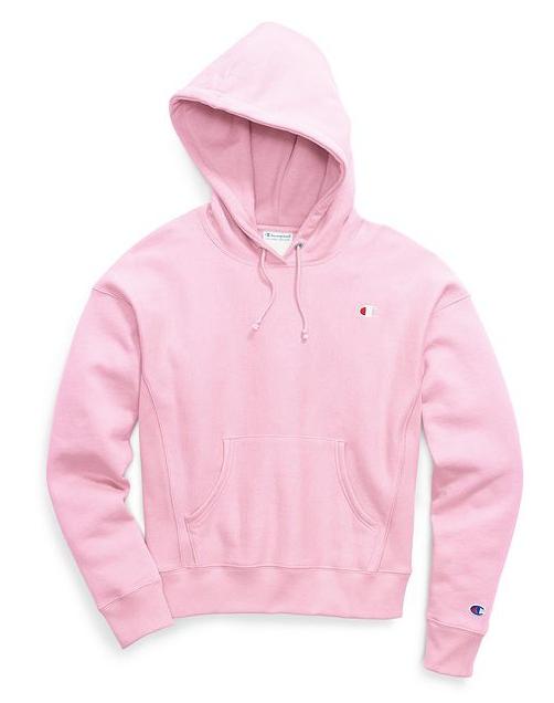 Champion pink hoodie