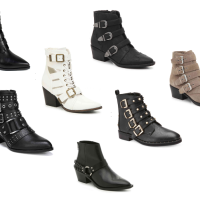 Favorite Buckle Booties (All Under $85)