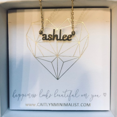 Ashlee Necklace by Caitlyn Minimalist